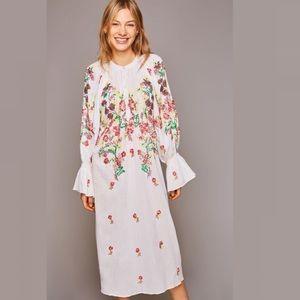 Free People x Antik Batik William Midi Dress NWT